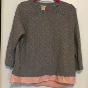 EUC Matilda Jane floral comfy layers top
